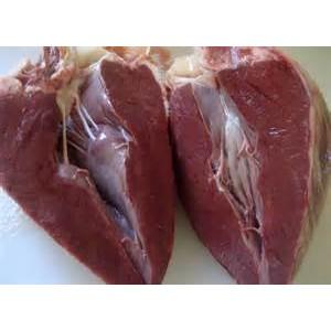 Beef Heart Cubes 1kg Fife Animal Feed